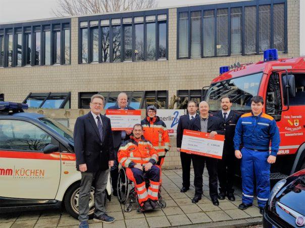 merlin.zwo stärkt Notfallhilfe und Ehrenamt in Hohenwettersbach und Bergwald